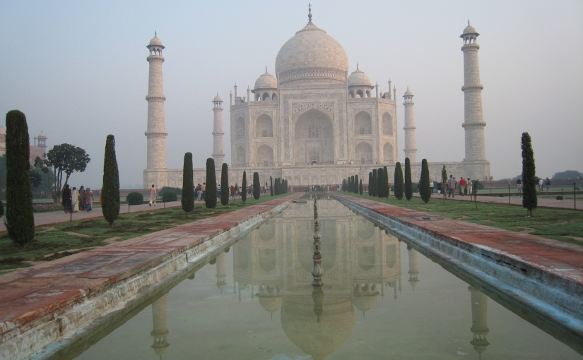The marvellous Taj Mahal