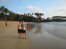 03 palolem beach - erste strandhälfte