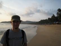 04 palolem beach - zweite strandhälfte
