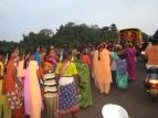 20 festival auf der straße