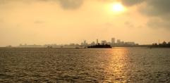 21 Sundowner über Mumbai