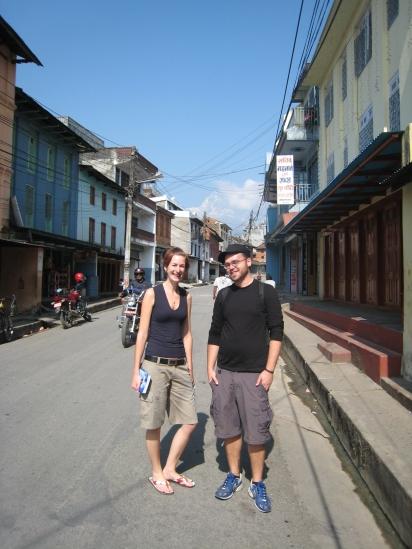 01 ute & raphi in old pokhara