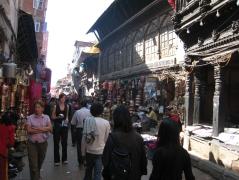 04 straße in kathmandu