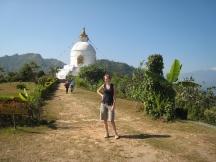 06 ute nach dem harten trek zur world peace pagoda