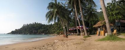 02 sairee beach in ko tao