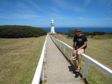 01 Ronald und der Leuchtturm von Cape Otway