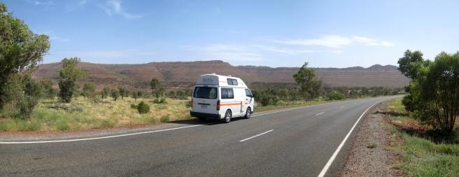 01 Unser Camper im Outback