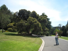 01 Ute in den Botanischen Gärten