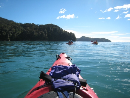 04 Kajaktour durch den Abel Tasman