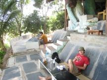 03 relaxtes frühstücken im mango tree