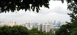 09 central singapur von mount faber