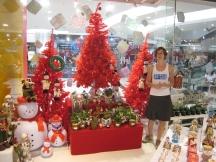 11 ute in (kitschiger) weihnachtsumgebung
