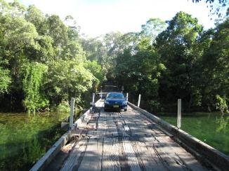 01 Brücke auf dem Weg zum Cape Tribulation