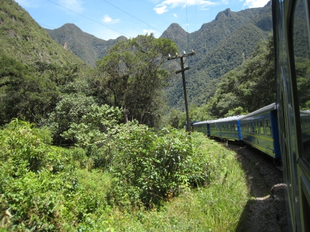 01 Fahrt von Cuzco nach Aguas Calientes