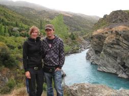 01 Wir und der Kawarau River