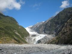 02 Blick auf den Franz Josef Gletscher vom Gletschertal