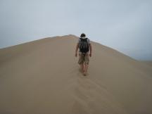 03 Anstrengender Aufstieg auf die Sanddünen