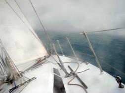 03 Segeln bei stürmischem Wetter
