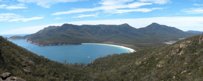 04 Blick auf die Wineglass Bay
