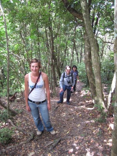 04 Steiler Trek zum Gipfel