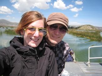 05 Wir auf dem Weg zu den Floating Islands