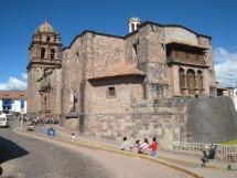 06 Iglesia de Santo Domingo (auf den Inka Ruinen Qorikancha)