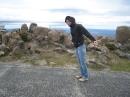 06 Kampf gegen den Wind auf Mount Wellington