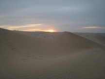 06 Sonnenuntergang in der Wüste