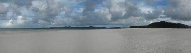 06 Weißester Sand am Whitehaven Beach