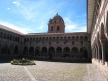 07 Im Inneren der Inka Ruinen Qorikancha