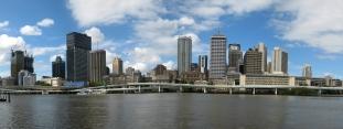 08 Blick auf Brisbane von den Southbanks