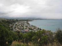08 Blick auf Kaikoura von der Peninsula