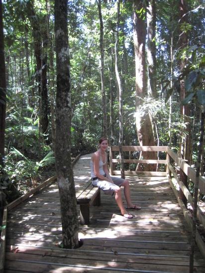 08 Ute im tropischen Regenwald