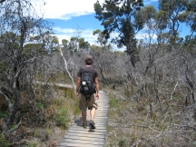 09 Bushwalking im Freycinet National Park
