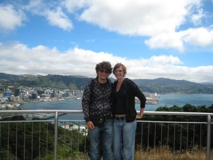 09 Wir und Wellington ;-)