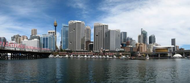 11 Blick aufs CBD vom Darling Harbour
