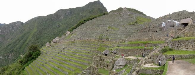 11 Terrassen in Machu Picchu