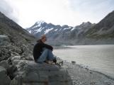 12 Ute vorm Hooker Gletscher und Mount Cook