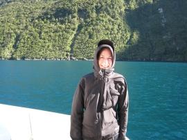 13 So nah an der Tasmanischen See ist es frisch - vor allem am Morgen