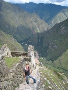 15 Aufstieg nach Wayna Picchu