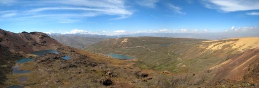 16 Fahrt auf den Chacaltaya