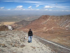 17 Die letzten Meter zum Gipfel mussten wir dann doch laufen