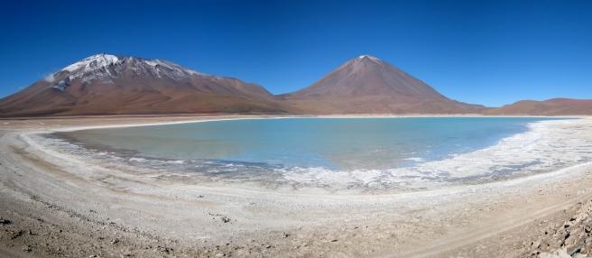 17 Laguna Verde und der Vulkan Licancabur