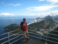 19 Ronald über der Copacabana